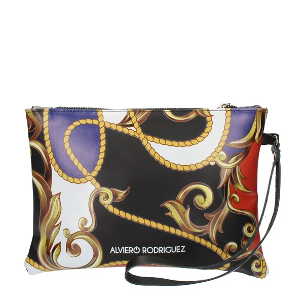 Alviero Rodriguez HAND BAG AND CLUTCH multicolored