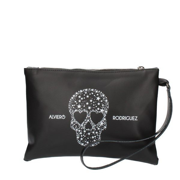 Alviero Rodriguez HAND BAG AND CLUTCH Black