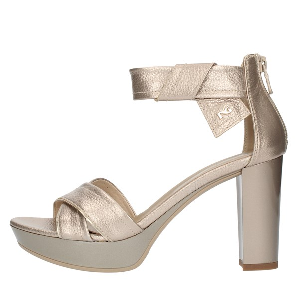 Nero Giardini SANDALS WITH HEEL Platinum