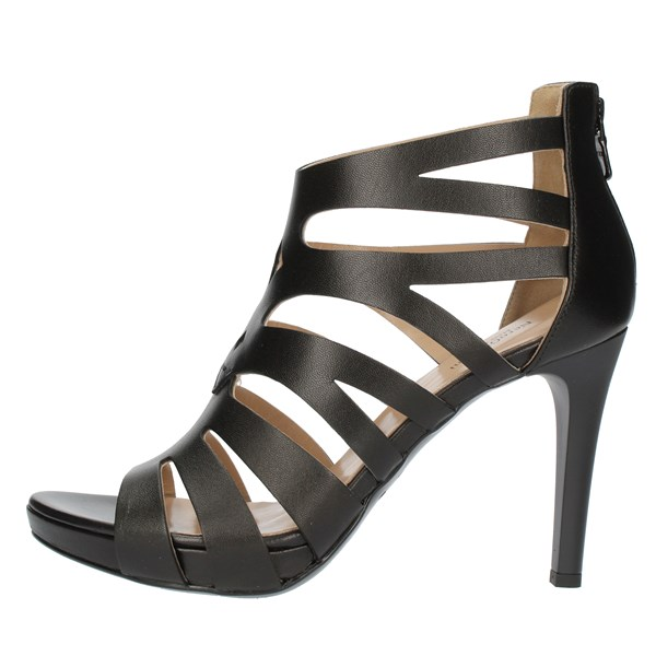 Nero Giardini SANDALS WITH HEEL Black