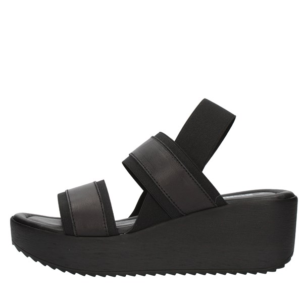 Bio Natura SANDALS WITH WEDGE Black