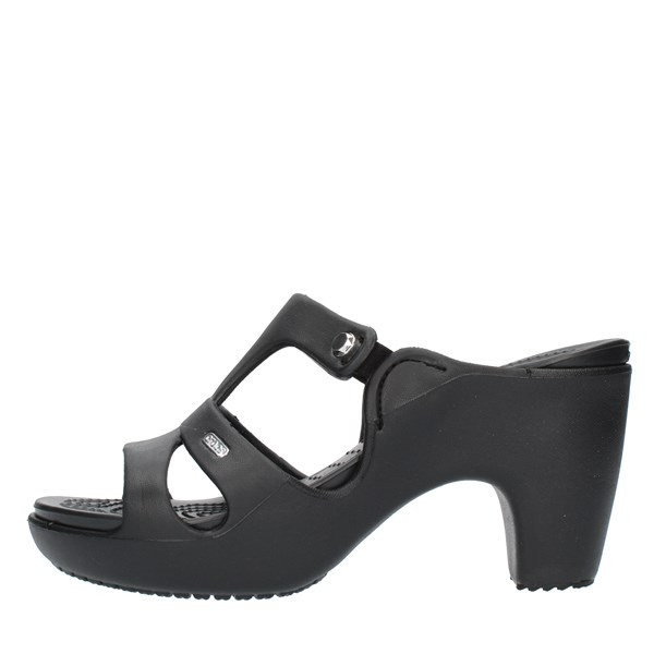 Crocs Sandals With heel 201301 Black