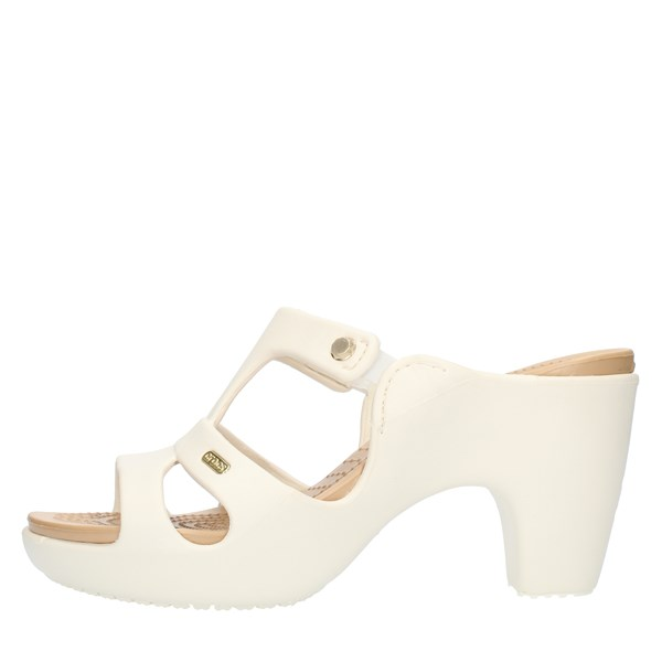 Crocs Sandals With heel 201301 Ivory