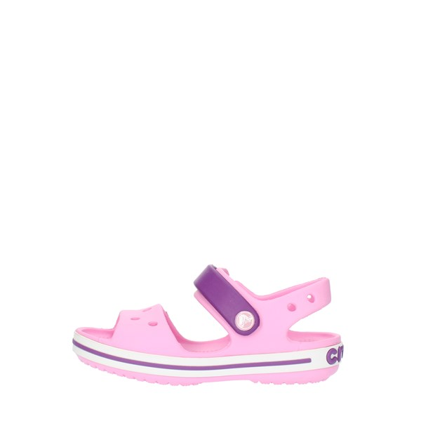 Crocs Sandals Low 12856 Pink and purple