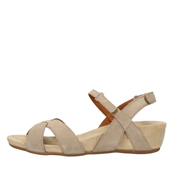 Benvado SANDALS WITH WEDGE Beige