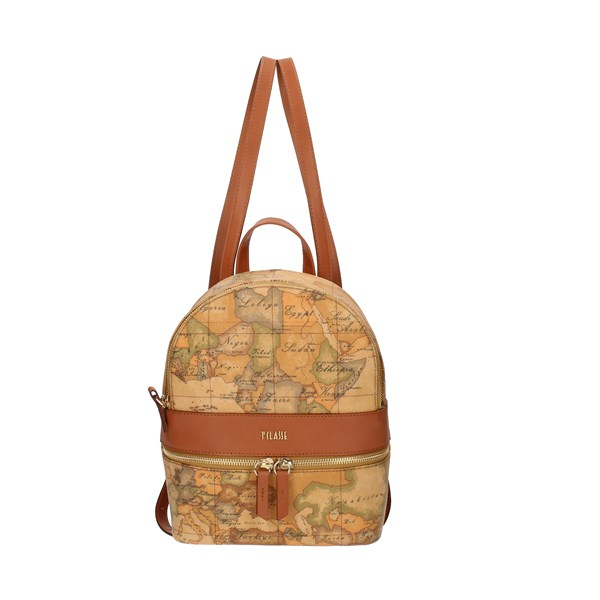 Alviero Martini Prima Classe Backpacks multicolored