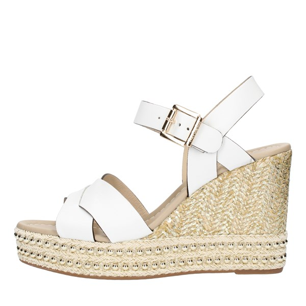 Nero Giardini SANDALS WITH WEDGE White