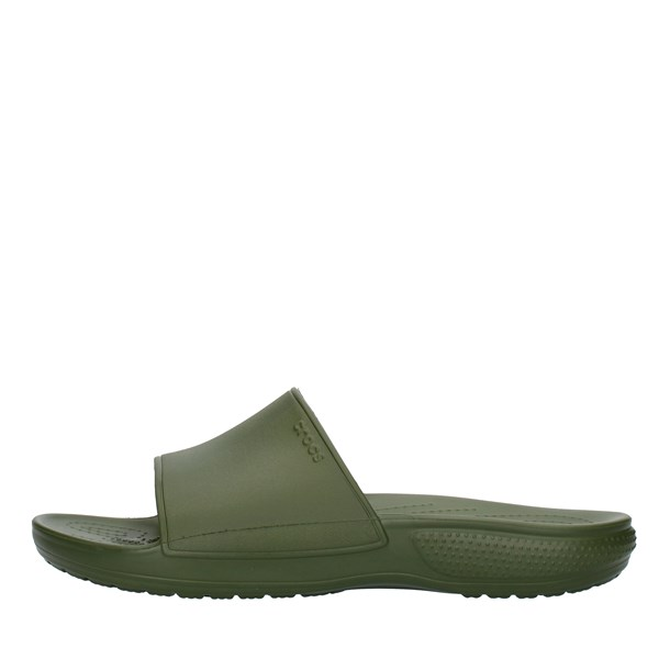 Crocs slippers Green