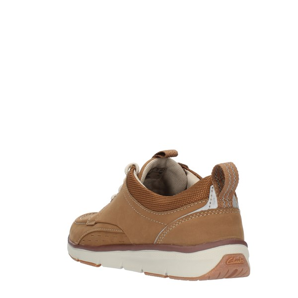 Clarks Laced Brown