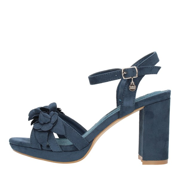 Xti Tentations Sandals With heel 35044 Petroleum blue