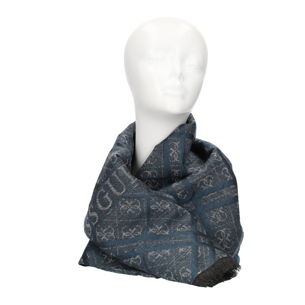 Guess SCARVES, FOULARDS AND HILLS Blue