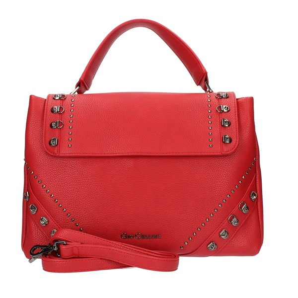 GIO CELLINI Milano Handbags Red