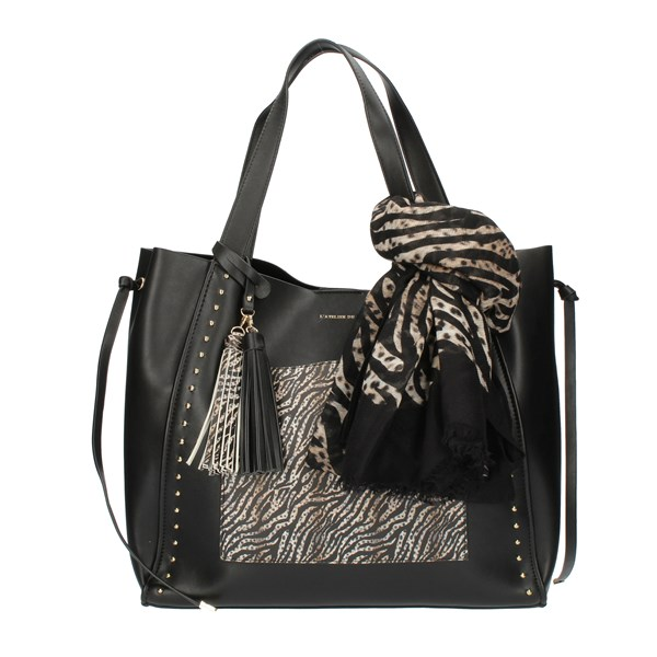 Pash Bag Shopping Black