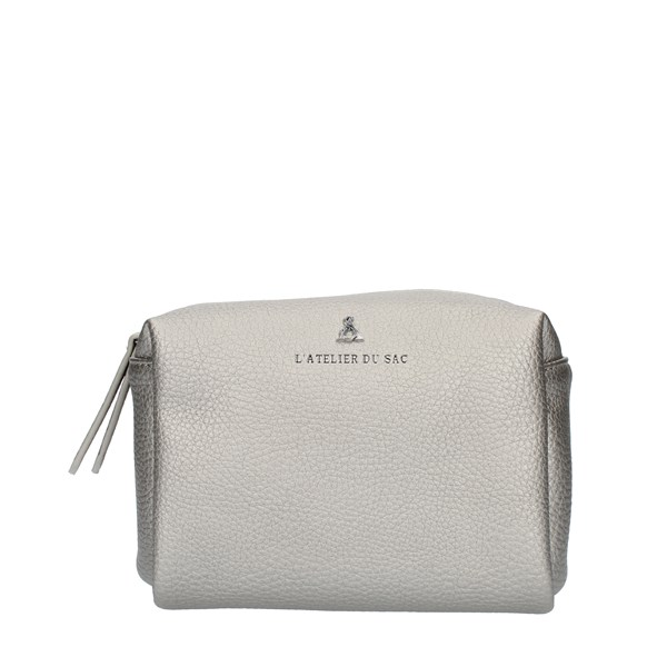 Pash Bag PENCIL CASE Silver