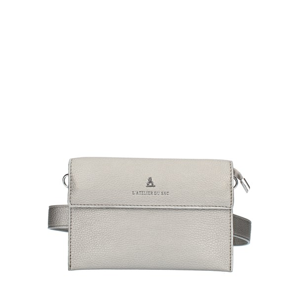 Pash Bag SHOULDER BAGS Silver