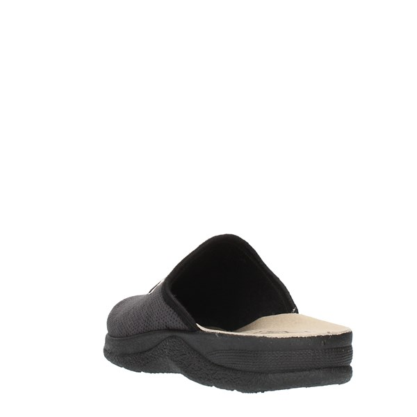 Clia Walk slippers Black