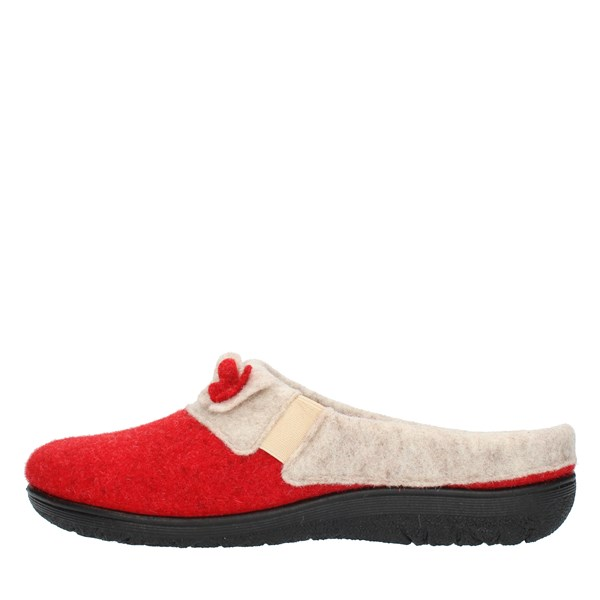 Clia Walk slippers Red