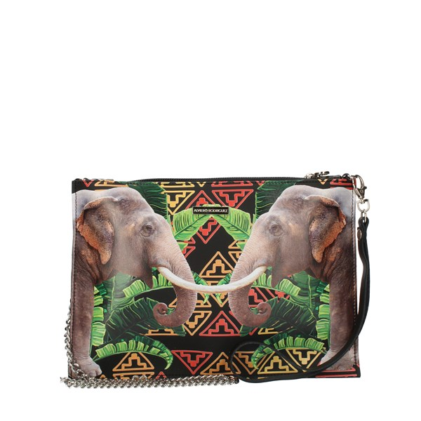 Alviero Rodriguez Clutch multicolored