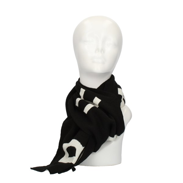 John RICHMOND SCARVES, FOULARDS AND COLLARS Black