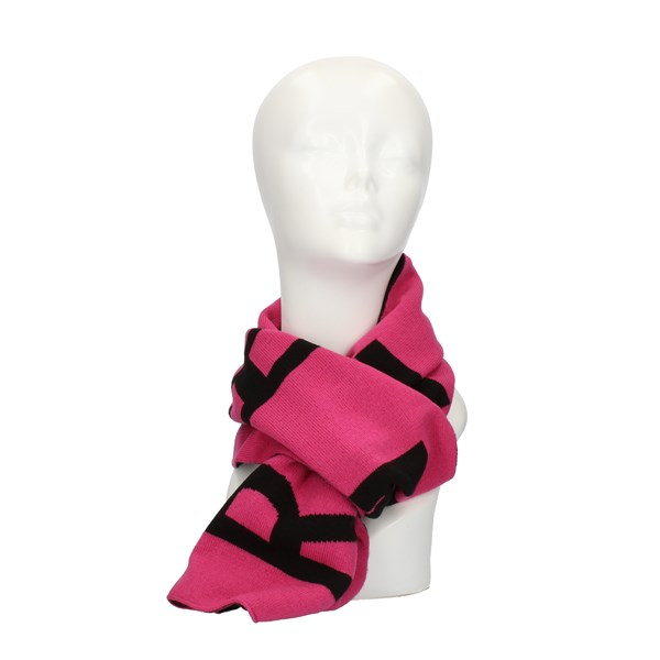 John RICHMOND SCARVES, FOULARDS AND HILLS Fuxia