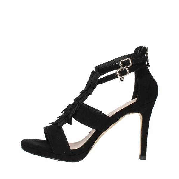 Xti Tentations  With heel 32077 Black