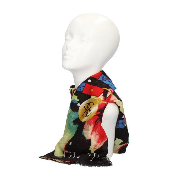 Guess SCARVES, FOULARDS AND COLLARS Black