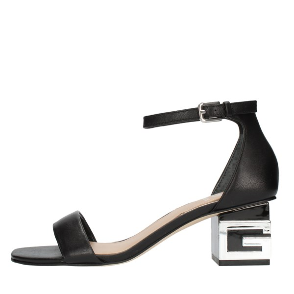 Guess SANDALS WITH HEEL Black
