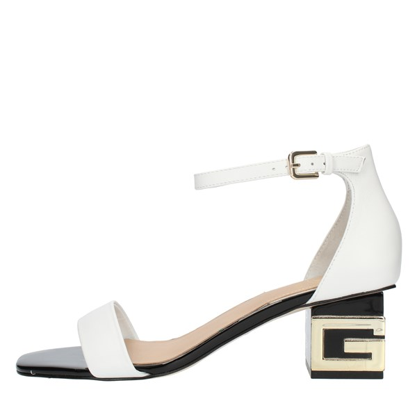 Guess SANDALS WITH HEEL White