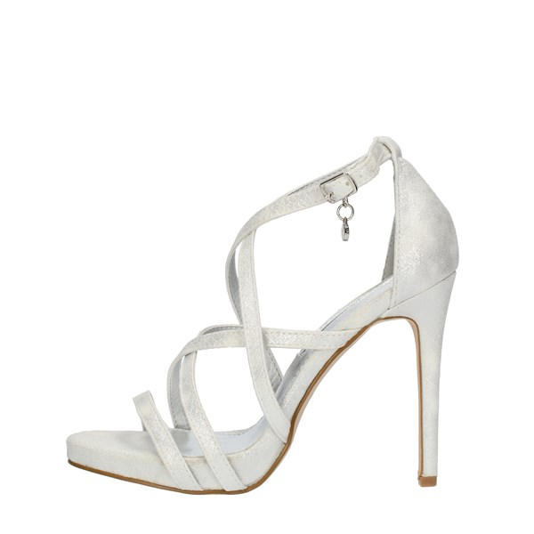 Xti Tentations SANDALS WITH HEEL Silver