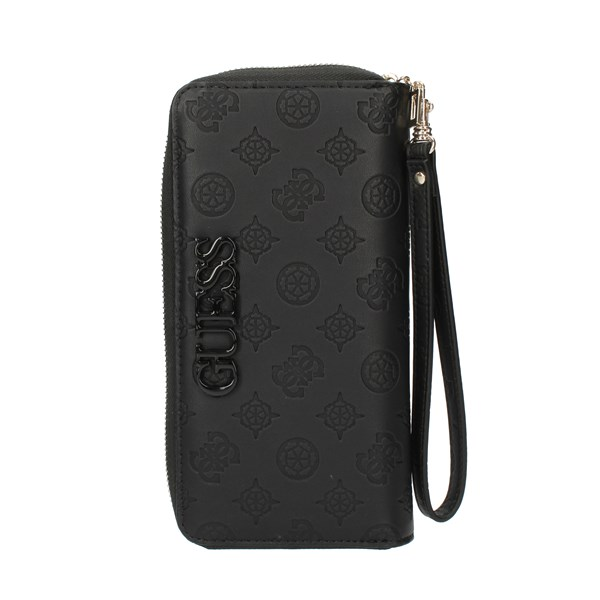 Guess Wallets Black