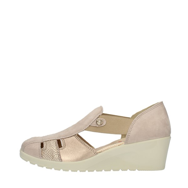 Enval Soft SANDALS WITH WEDGE Beige