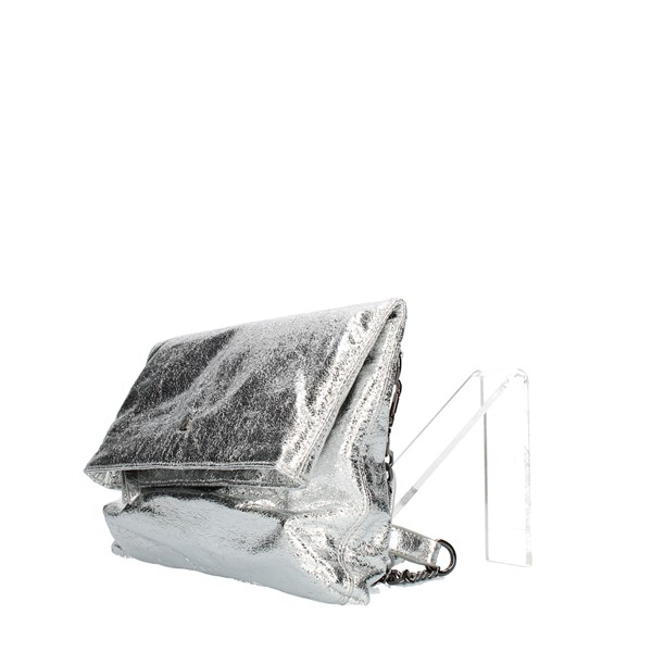 Pash Bag Clutch Silver