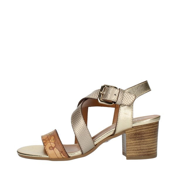 Alviero Martini Prima Classe SANDALS WITH HEEL Platinum
