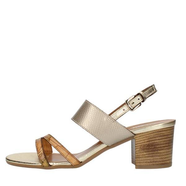 Alviero Martini Prima Classe SANDALS WITH HEEL Petroleum