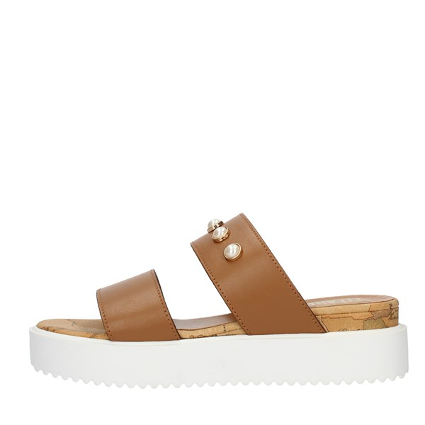 Alviero Martini Prima Classe SANDALS WITH WEDGE Leather