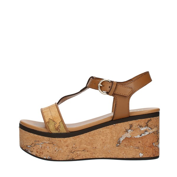 Alviero Martini Prima Classe SANDALS WITH WEDGE multicolored
