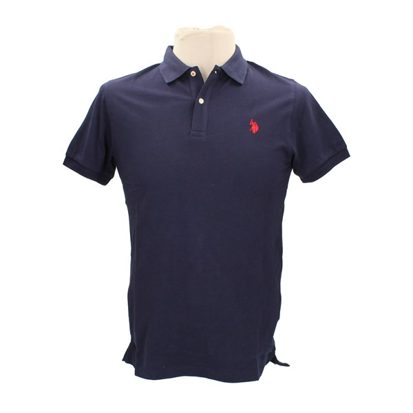 U.S. POLO ASSN. Short sleeves Blue
