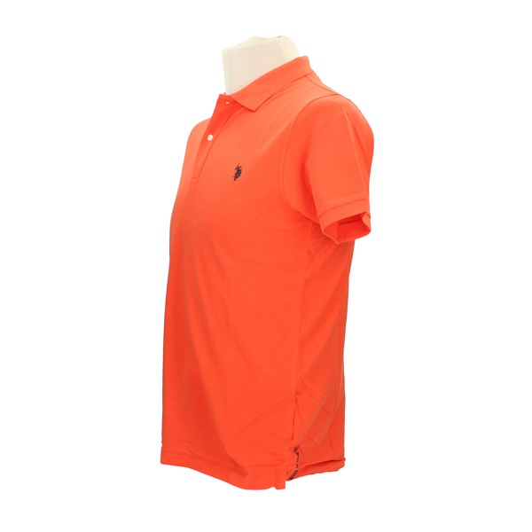 U.S. POLO ASSN. Polo shirt Orange