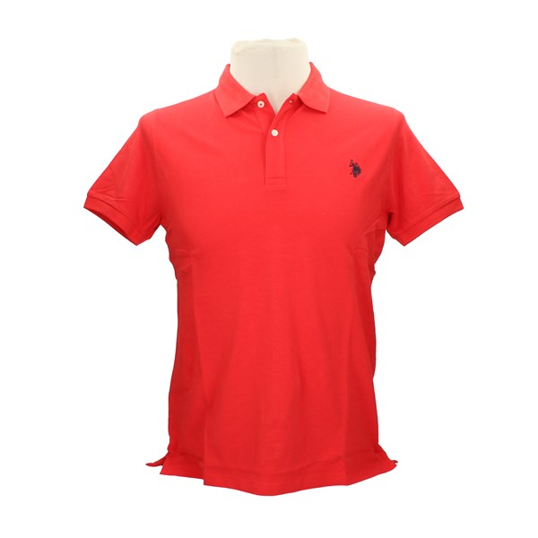 U.S. POLO ASSN. Polo shirt Red