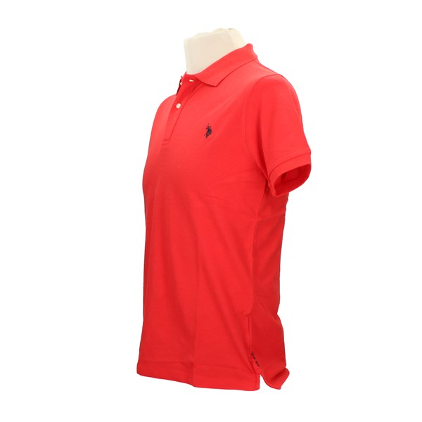 U.S. POLO ASSN. Short sleeves Red