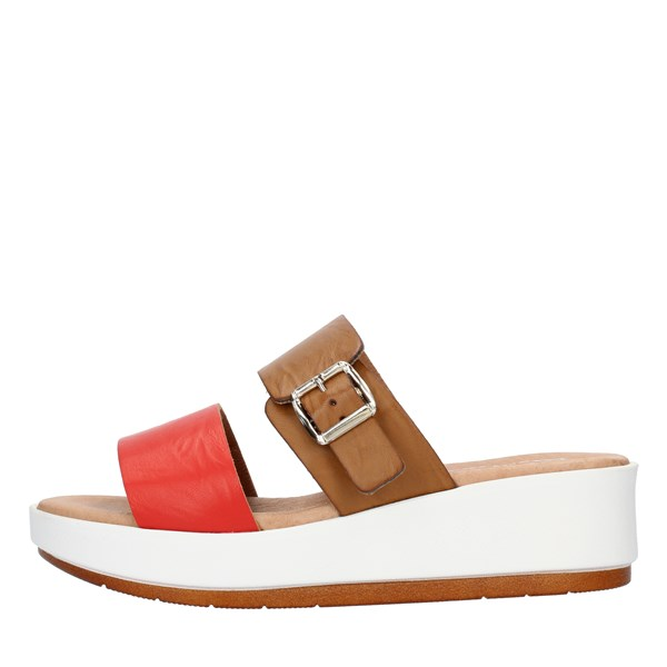 Clia Walk SANDALS WITH WEDGE multicolored