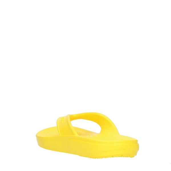 Crocs Flops Yellow
