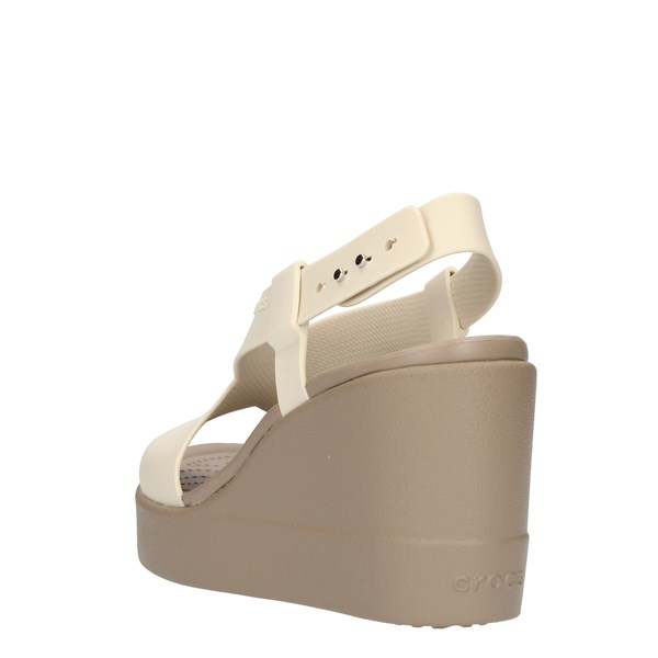 Crocs  With wedge Beige