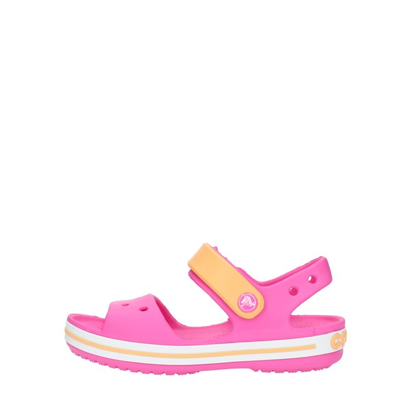 Crocs Sandals Low 12856 Fuxia and orange
