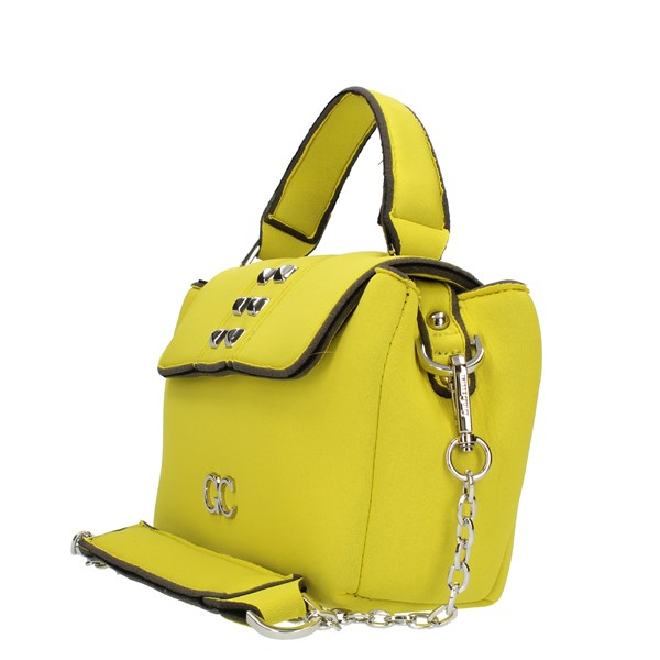GIO CELLINI Milano Shoulder straps & Messenger Yellow