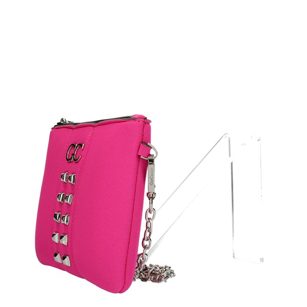 GIO CELLINI Milano Shoulder straps & Messenger Fuxia