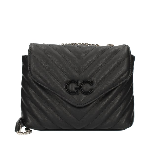 GIO CELLINI Milano Shoulder straps & Messenger Black