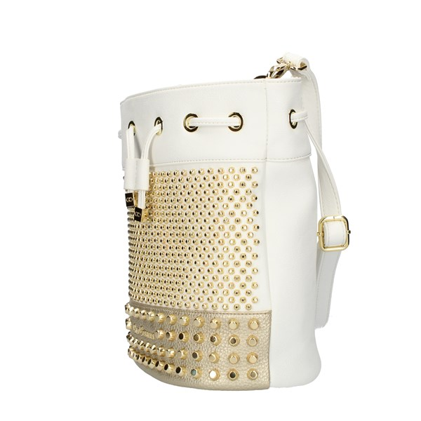 GIO CELLINI Milano Bucket Bags White