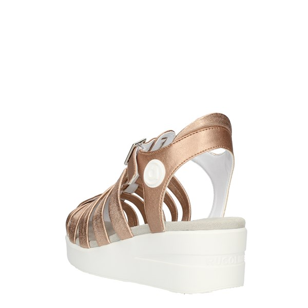 Agile by Rucoline Sandals  With wedge Women 210ASATSLIDE 1