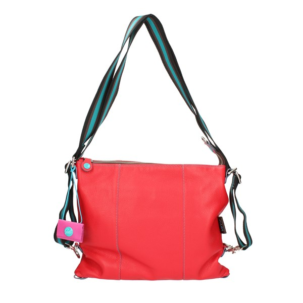 Gabs Shoulder straps & Messenger Red